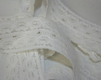Double Row Elastic Lace