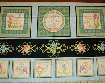 A Beautiful Life's Paradise Fabric Panel Free US Shipping