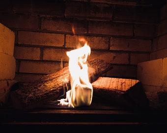 Fireplace Photo Print