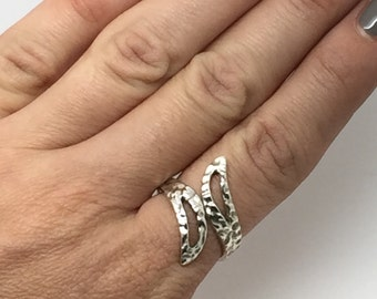 Silver ring,Adjustable ring,silver jewelry,