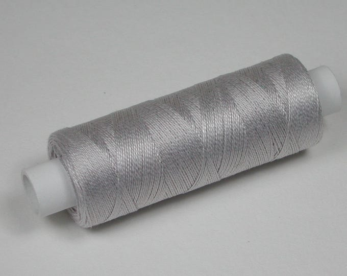 7020 Color Pearl Grey, Venne cotton, knitting and crochet thread for miniature manual work