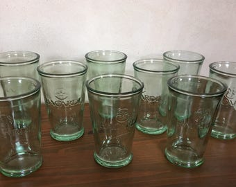 set of 9 glasses Bacardi - Set of 9 glasses Bacardi