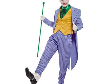 The Joker Simplicity 8195 Pattern DC Villian Size 46-52
