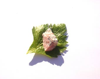 The Peru pink Opal: pendant gemstone 41 mm height x width max max slice approximately 10 mm x 19 mm
