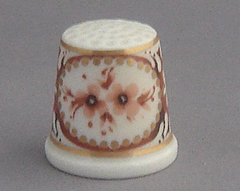 Rosenthal Thimble - Autumn Gold