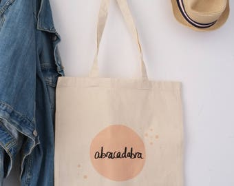 Bag 100% cotton Tote bag birthday guest
