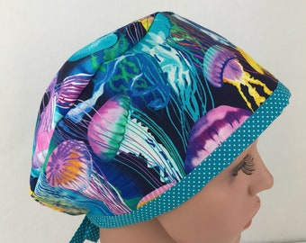 Pixie Scrub Hats Scrub Caps Surgical Scrub Hats Surgical Tech Scrub Hats for Women Surgical Cap