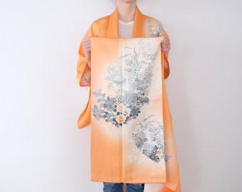 Japanese Kimono - Excellent Condition - Silk Kimono - Vintage Kimono - Kimono For Women - Long Kimono Robe - Boho Look