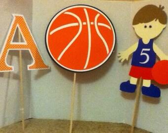Cute Basketball Centerpiece