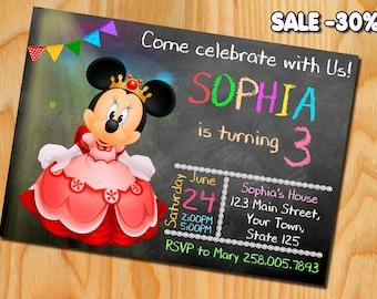 Mickey Mouse, Mickey Mouse birthday, Mickey Mouse Invitation, Mini Mouse invitation, Mickey Mouse Printable, Mickey Mouse birthday party
