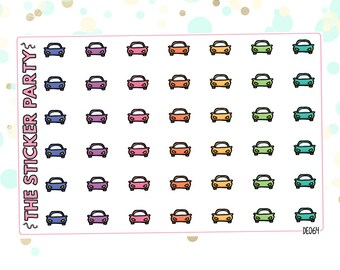 Car Planner Stickers for Auto Payments/Insurance