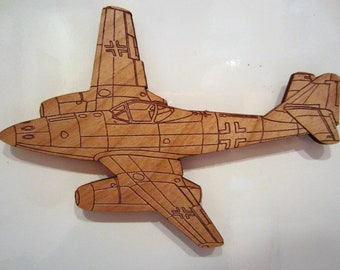 ME-262 Wooden Fridge Magnet