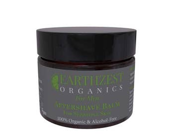 100% Organic Aftershave Balm for Men by Earthzest Organics