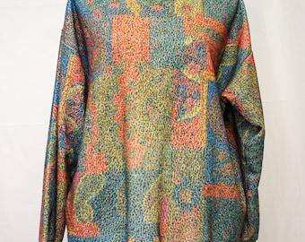 Unusual EZL !980's  Long Sleeve Sweatshirt