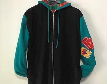 Vintage Yves Saint Laurent zip hoodie size. M