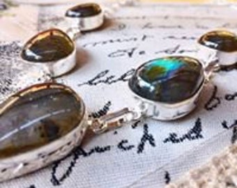 Labradorite necklace PROTECTION jewel Luxury Collection