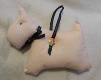 Lavender scottie dog