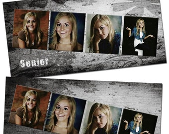 Seniors Rule 10x20 custom photo collage/storyboard Set- photo templates for photographers