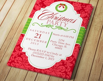Diy do it yourself mardi gras invitation editable template diy do it yourself christmas party invitation editable template microsoft solutioingenieria Image collections