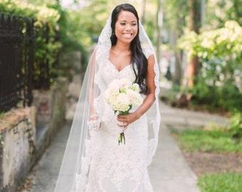 Mantilla Lace Wedding Veil