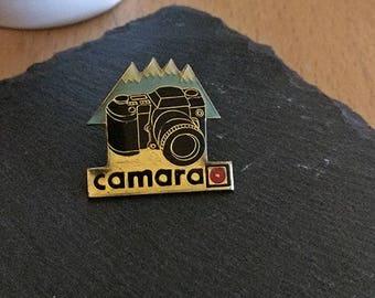 Vintage Camara Pin