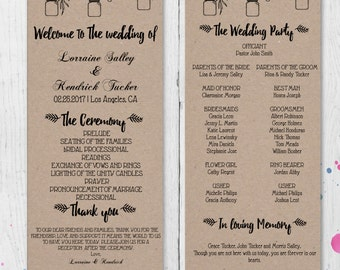 diy mason jars and flowers rustic wedding invitation template