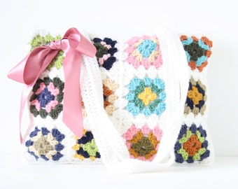 Crochet shoulderbag Whitney
