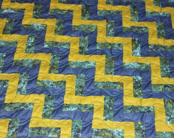 50% Deposit - KING QUILT - Custom Made Quilt - Rail Fence Quilt - King Size Quilt - Supply Your Own Fabrics - DEPOSIT Only