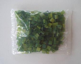 "Glass Mosaic Tiles 1/4"" x 1/4"""