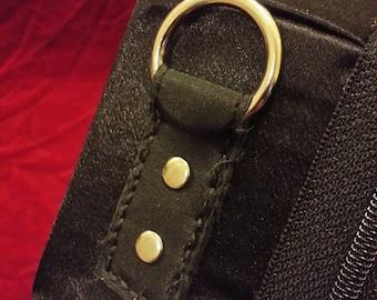 Purse Tabs/Pocket for a Custom Coffin Purse (add-on)