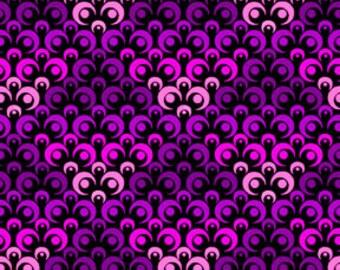Deco Ombre Mosaic Purple 1 Yard 8DEC3
