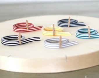 "Candy Stripe Grosgrain Ribbon 3/8"""
