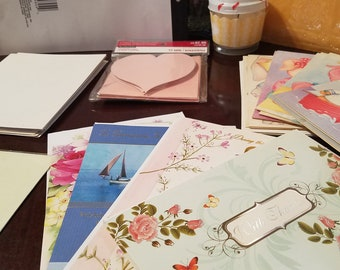 28 Greeting Cards for 10 Dollars