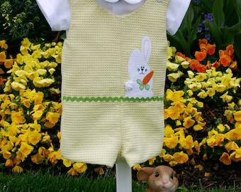 Easter Baby Boy Outfit Romper Jon Jon Pattern, Boy Overall Pattern, John John Pattern, Sew Handsome PDF Reversible Romper Pattern,