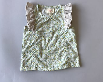 SAMPLE SALE -  Pippin Top in Wildflower - Size 4