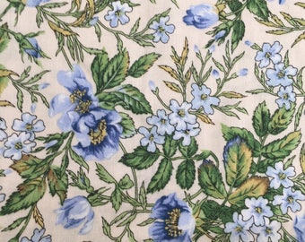 RJR Fabric, Two Harbors, periwinkle floral