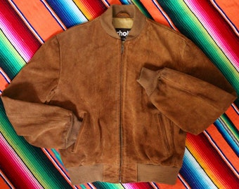 Jacket suede SCHOTT made in the USA