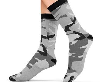 Snow Camo Sublimation Socks