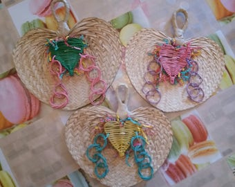 1 large heart Nature for all parakeets, small to medium Parrot