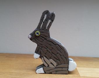 mosaic bunny rabbit