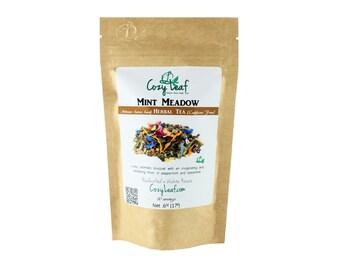 Mint Meadow Organic Artisan Loose Leaf Tea by Cozy Leaf