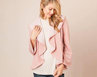 Soft Ruffle Cardigan | 5 Colors | Women's Cardigan, Womens Clothing, Outerwear, Jacket, Warm, Cozy
