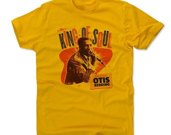 Otis Redding Men's Shirt | Soul Music | Men's Cotton T Shirt | Otis Redding Great O