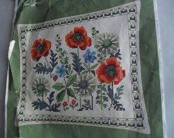Counted Cross Stitch Embroidery Danish Design Flowers Stitchery Kit New