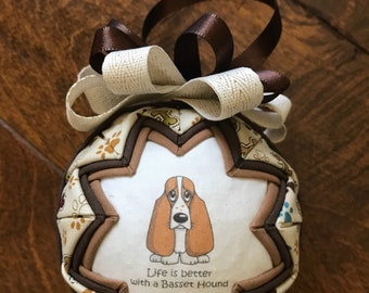 Life Is Better With A Bassett ornament