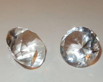 Faceted Clear Quartz