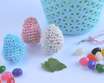 Handmade Crochet Easter Egg Catnip Toy