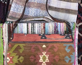 Vintage Handmade - Turkish Kilim - Hobo