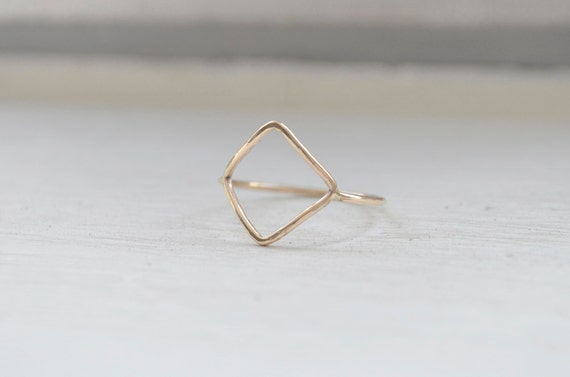 Diamond Shaped Ring - Geometric