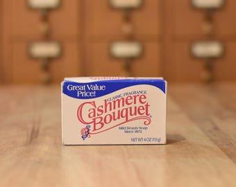 Vintage Colgate Palmolive Cashmere Bouqet Bar Soap Vintage Bar Soap